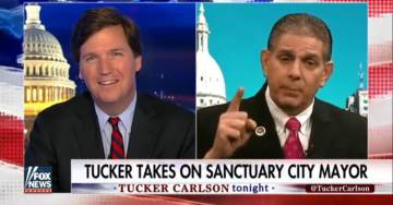 Tucker Carlson Slams Sanctuary City Mayor: 'I Thought You Believed in Laws' (VIDEO)