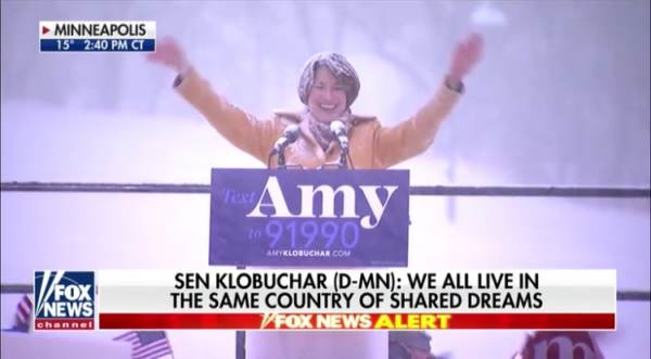 Trump Trolls Dem Sen. Klobuchar For Announcing 2020 Presidential Run - Focused on Global Warming in Middle of Heavy Blizzard