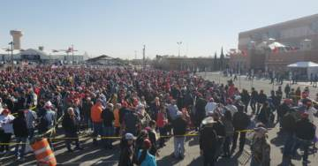 THOUSANDS OF SUPPORTERS Line Up to See Trump in El Paso – Hundreds Arrive 24 Hrs Early – 75,000 Request Tickets For 8,000 Seat Arena
