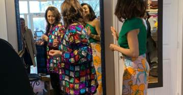 Female 'Journalists' Go Clothes Shopping With 2020 Dem Hopeful Kamala Harris – Pick Out Sequin Jacket For Her to Buy (VIDEO)