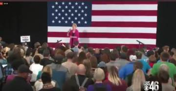 Fake Indian Elizabeth Warren Heckled at Campaign Stop Over Her Native American Claims (VIDEO)