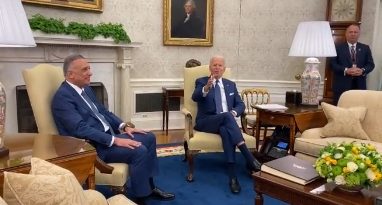 """Joe Biden Calls Female Reporter a """"Pain in the Neck"""" During His Meeting with Iraqi Prime Minister (VIDEO)"""