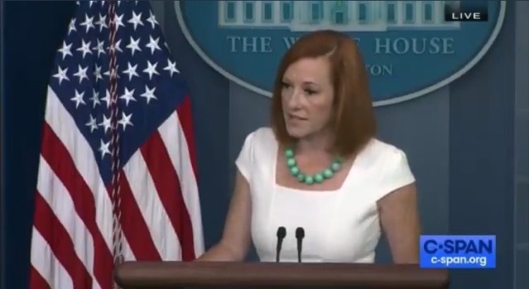 """Psaki Says US Going in the Wrong Direction Because of """"Large Population of Unvaccinated People"""" (VIDEO)"""