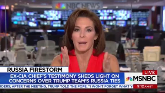 UNHINGED! MSNBC's Stephanie Ruhle Shouts Down Guest, Won't Allow Him to Say 'Hillary Clinton' (VIDEO)