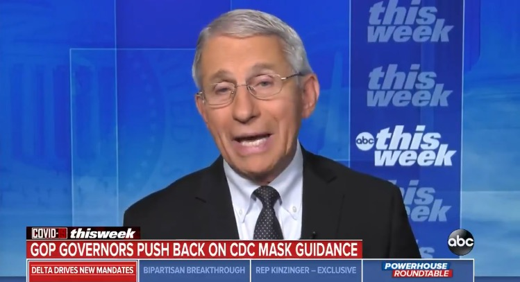 """Fauci Defends CDC's Mask Guidance For Vaccinated Americans, Warns """"Things Are Going to Get Worse"""" (VIDEO)"""