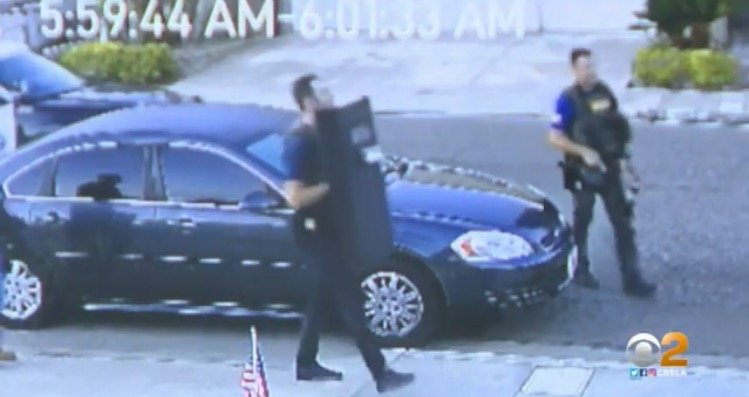 FBI Agents with Shields, Weapons Drawn, Raid SoCal Home of Non-Violent January 6 Protester who Walked Through Capitol, Took Photos (VIDEO)
