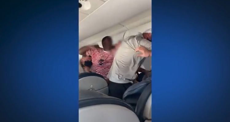 Wild Brawl Breaks Out on American Airlines Flight to Austin From New Orleans (VIDEO)