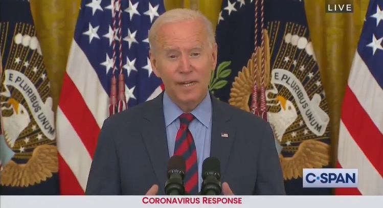 Biden Refers to $100 Vaccine Incentive as a '$100,000 Incentive' Before Attacking GOP Governors DeSantis and Abbott (VIDEO)