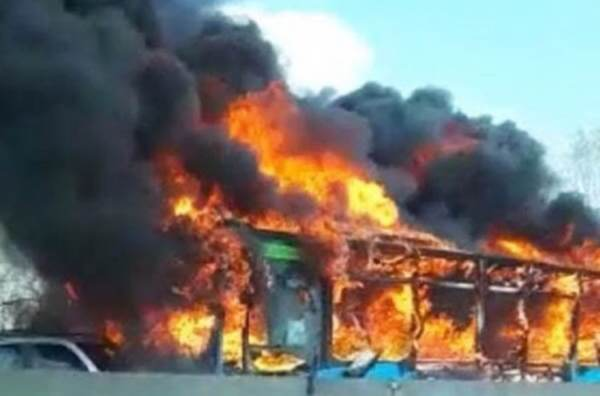 photo image ITALY: Angry Senegalese Driver Sets School Bus Full of Children on Fire 'To Avenge Deaths of African Migrants at…