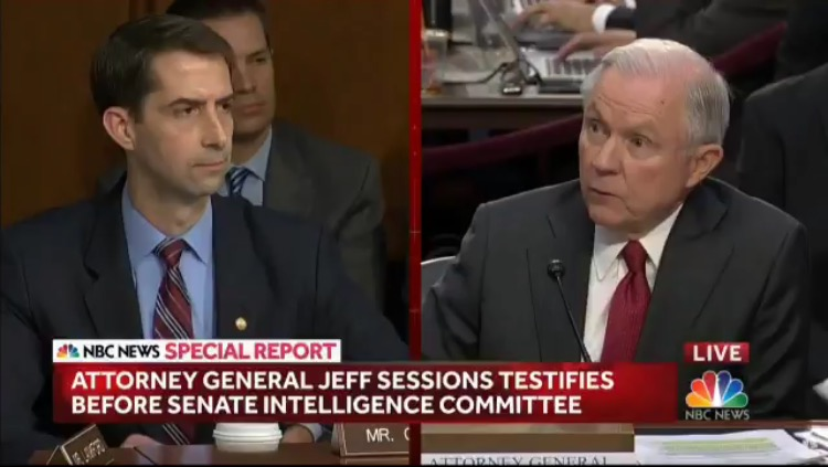 BOOM! Senator Cotton Slams Russia Probe: The Only Potential Crimes We Know Have Happened Are Leaks (VIDEO)