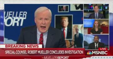 """Chris Matthews Suffers Epic Meltdown Over Mueller Report """"How Can They Let Trump Off the Hook?!"""" (VIDEO)"""