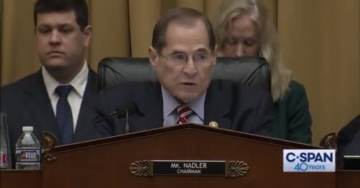 Report: Democrat Leader Jerry Nadler's Son Works for Firm Suing Trump – This is Material Real Conflict of Interest – He Must Recuse!