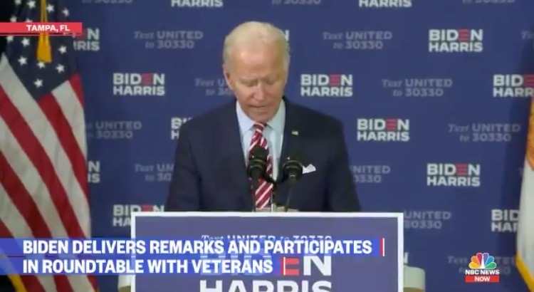 Joe Biden Confuses Iran and Iraq as He is Reading From Notes in Tampa Speech (VIDEO)