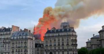 DEVELOPING….. French Media Confirms There Were NO CONSTRUCTION WORKERS at Notre Dame Cathedral at Time of Fire