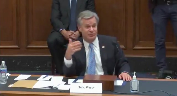 Chris Wray and the FBI's Outrageous Lies About Domestic Terrorism