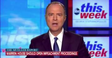 "Schiff Says Congressional Democrats ""May"" Take Up Impeachment Proceedings Against Trump (VIDEO)"