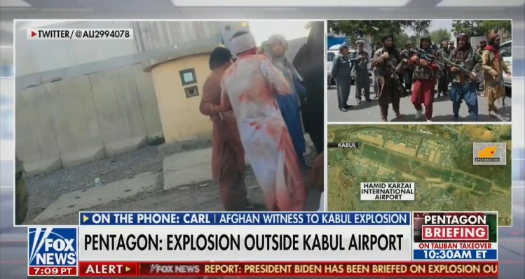 REPORT: At Least 60 Dead – 150 Wounded In Kabul After Horrific Suicide Bombings; Majority Injured in Critical Condition