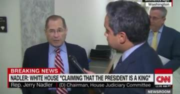 Nadler Lashes Out at Trump After White House Counsel Tells House Judiciary Committee to Pound Sand – Threatens Large Fines (VIDEO)