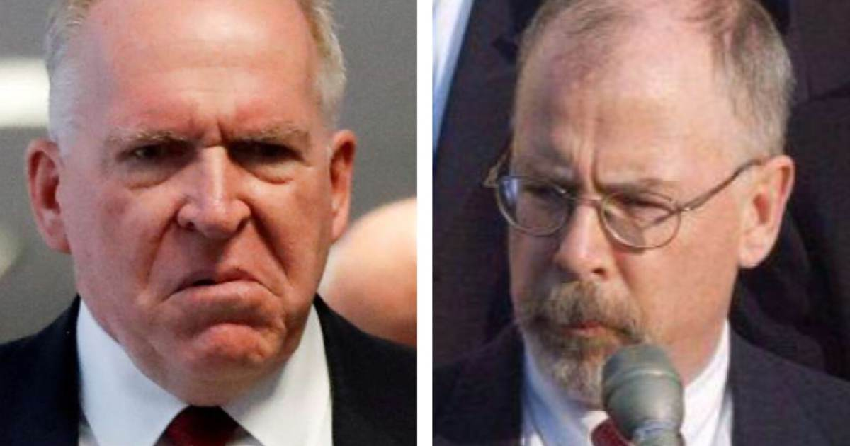 photo image REPORT: Special Prosecutor John Durham Targeting CIA in its Role in Origins of Spygate – Brennan's Actions Will…
