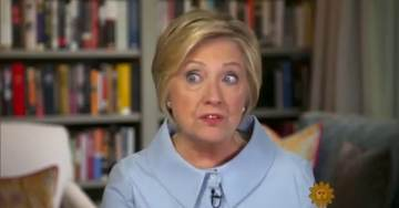 """Hillary Clinton's """"Crazy, Floating Eye"""" Returns as She Blames Comey for Election Loss (VIDEO)"""