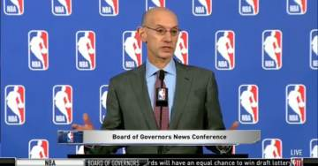 NBA Commissioner Reminds Players to Stand During Anthem 'Its a Rule' (VIDEO)