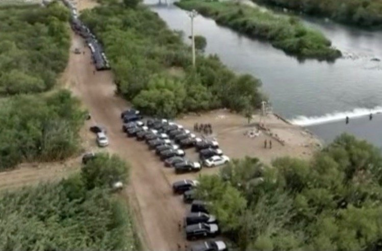 Governor Abbott Deploys DPS Troopers, National Guard to Build Barricade Along Border Around Del Rio Amid Surge of Illegal Aliens
