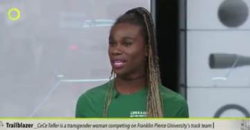 SERIOUSLY? Biological Male Who Won Women's NCAA Championship Says Female Runners Actually Have the Advantage (VIDEO)