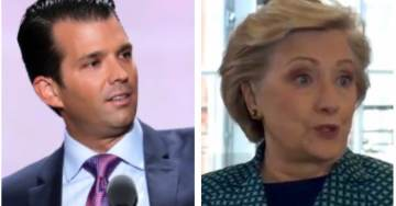 Hillary Clinton Says She'll Go as the President For Halloween – Donald Trump Jr. Sets Her Straight and It's Glorious