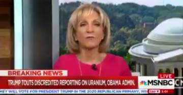 MSNBC's Andrea Mitchell Uses Crazy Excuse For Ignoring Latest Clinton-Uranium One Scandal (VIDEO)