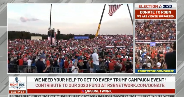 WATCH LIVE ON RSBN: President Trump's MAGA Rally in Gastonia, North Carolina (Begins 7PM EDT)