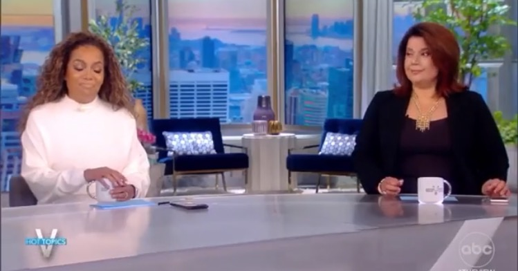 """Total BS: """"The View"""" Co-Hosts Ana Navarro and Sunny Hostin Claim They Had """"False Positive"""" Covid-19 Tests Before Kamala Harris Interview (VIDEO)"""