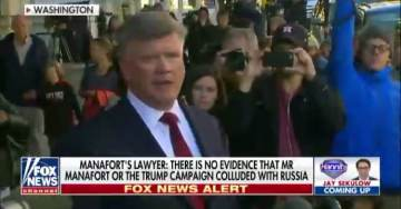Manafort Lawyer: US Govt Has Only Used 'Failure to Register as Foreign Agent' 6 Times to Indict Since 1966 (VIDEO)