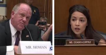 EPIC! Former Border Patrol Chief Tom Homan Takes 29-Year-Old Bartender AOC to School at Hearing (VIDEO)