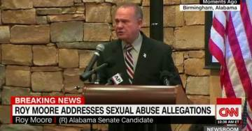 """ROY MOORE WARNS: WaPo's Motivations Behind Hit Piece Will be Revealed in """"Next Few Days"""" (VIDEO)"""
