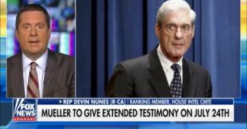 Nunes Expects Mueller's Hearing to be Delayed Further, 'He May Not Show Up' (VIDEO)