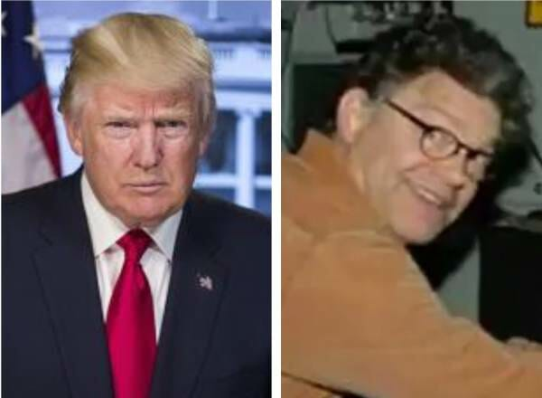 BOOM! POTUS Trump Wins the Internet Today With Al Franken Kill Shot