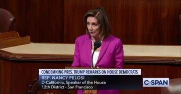 BREAKING: Speaker Pelosi Violates House Rules After She Walks Off Floor – House Votes to Strike Her Comments on Trump From the Record