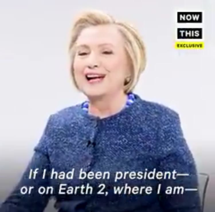Delusional Hillary Fantasizes About Being President on Another Planet (VIDEO)