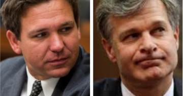 FBI Director Christopher Wray Refuses to Answer Rep DeSantis When Asked if Dossier Was Used to Spy on Trump's Camp