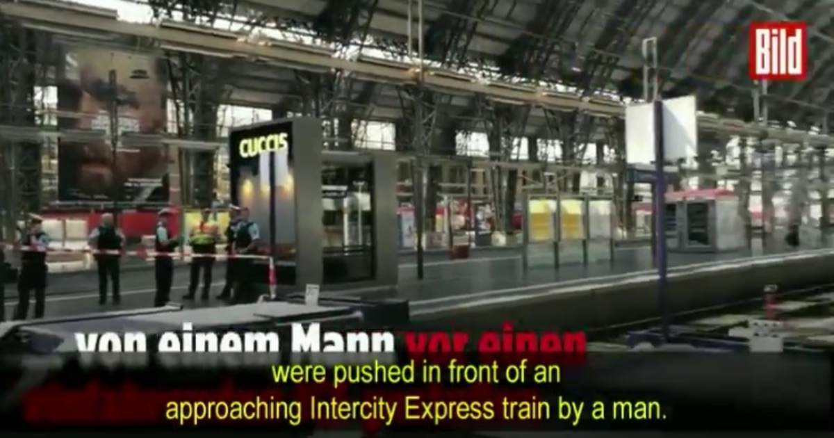 photo image HORROR: 8-Year-old Boy Dies After African Migrant Pushes Him and His Mom Onto Train Tracks in Germany