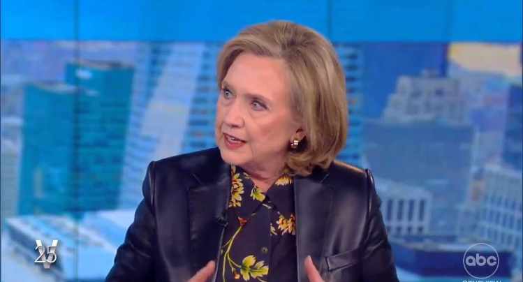 """Hillary Clinton Says She Will """"Never be Out of the Game of Politics"""" - Calls For More Social Media Censorship (VIDEO)"""
