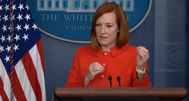 """Psaki Claims """"Little Hubbub"""" with Southwest Airlines Had Nothing to Do with Biden's Vaccine Mandates"""