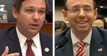 Rep. DeSantis RIPS Rotten Rosenstein After He Smugly Refuses to Answer Whether FBI Paid For Garbage Dossier (VIDEO)