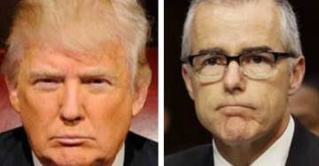 President Trump Threatens to 'Get Involved' to Force the Release of McCabe Text Messages
