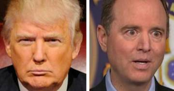 President Trump Trolls 'Liddle Adam Schiff the Leakin' Monster' After Mueller's Indictment Reveals Russians Began Interference Operation in 2014