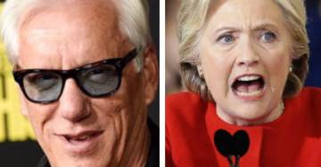 James Woods Has Perfect Response to Crooked Hillary's Faux Outrage Over 'Trump's Immigration Policy'