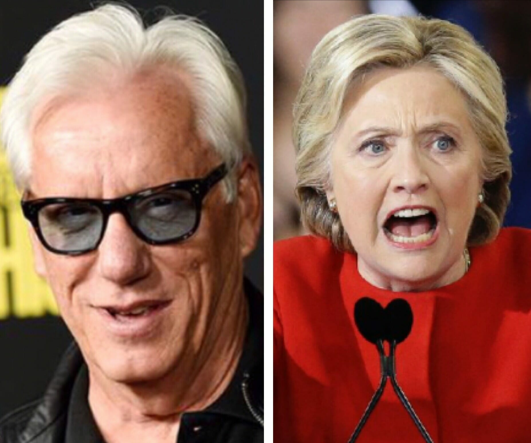 James Woods Ignites Twitter After He Drops a MOAB on Hillary Clinton