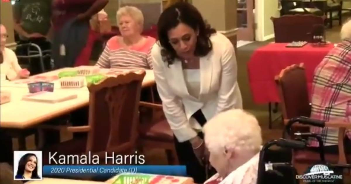 photo image Kamala Harris Gets Called Out by Nursing Home Resident in Iowa, 'Leave Our Healthcare System Alone' (VIDEO)