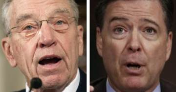 Grassley Demands Probe Into Comey's Use of Secret Gmail Account For FBI Business