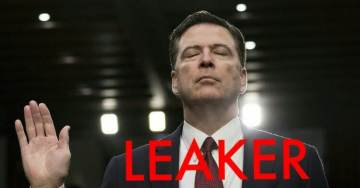 "Leaker Comey Brags About Upcoming Interview With George Stephanopoulos to Discuss New Book ""A Higher Loyalty"""